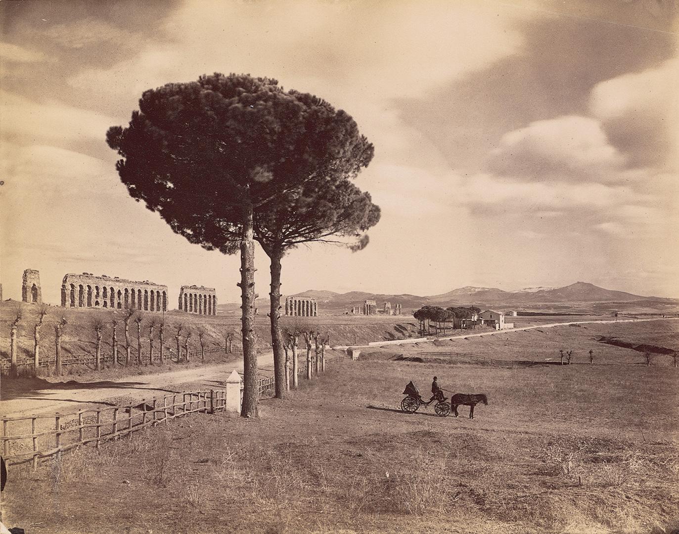 jacob-burckhardt_03_Roma-Via-Appia.-Alinari