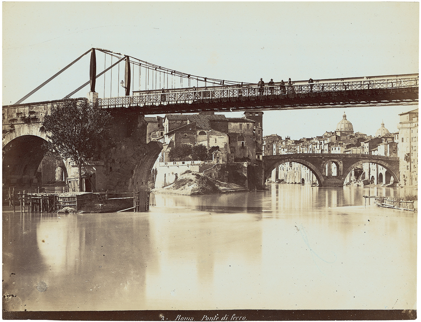 jacob-burckhardt_15-Roma-Ponte-di-ferro.Alinari